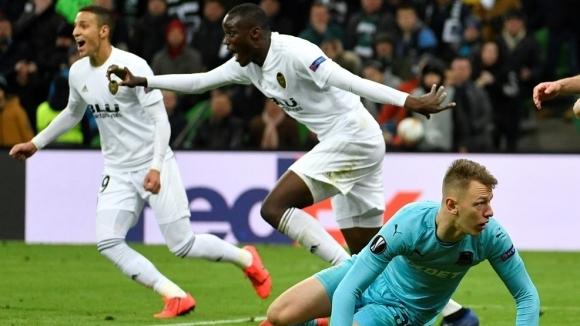 Отборите на Краснодар и Валенсия завършиха 1:1 в среща реванш