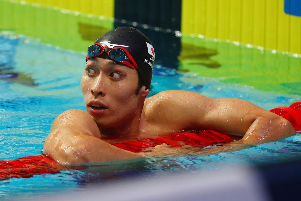 Олимпийският шампион в плуването Косуке Хагино обяви вчера, ще се