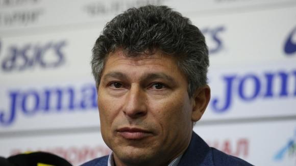 Наставникът на Етър Красимир Балъков говори преди срещата от последния