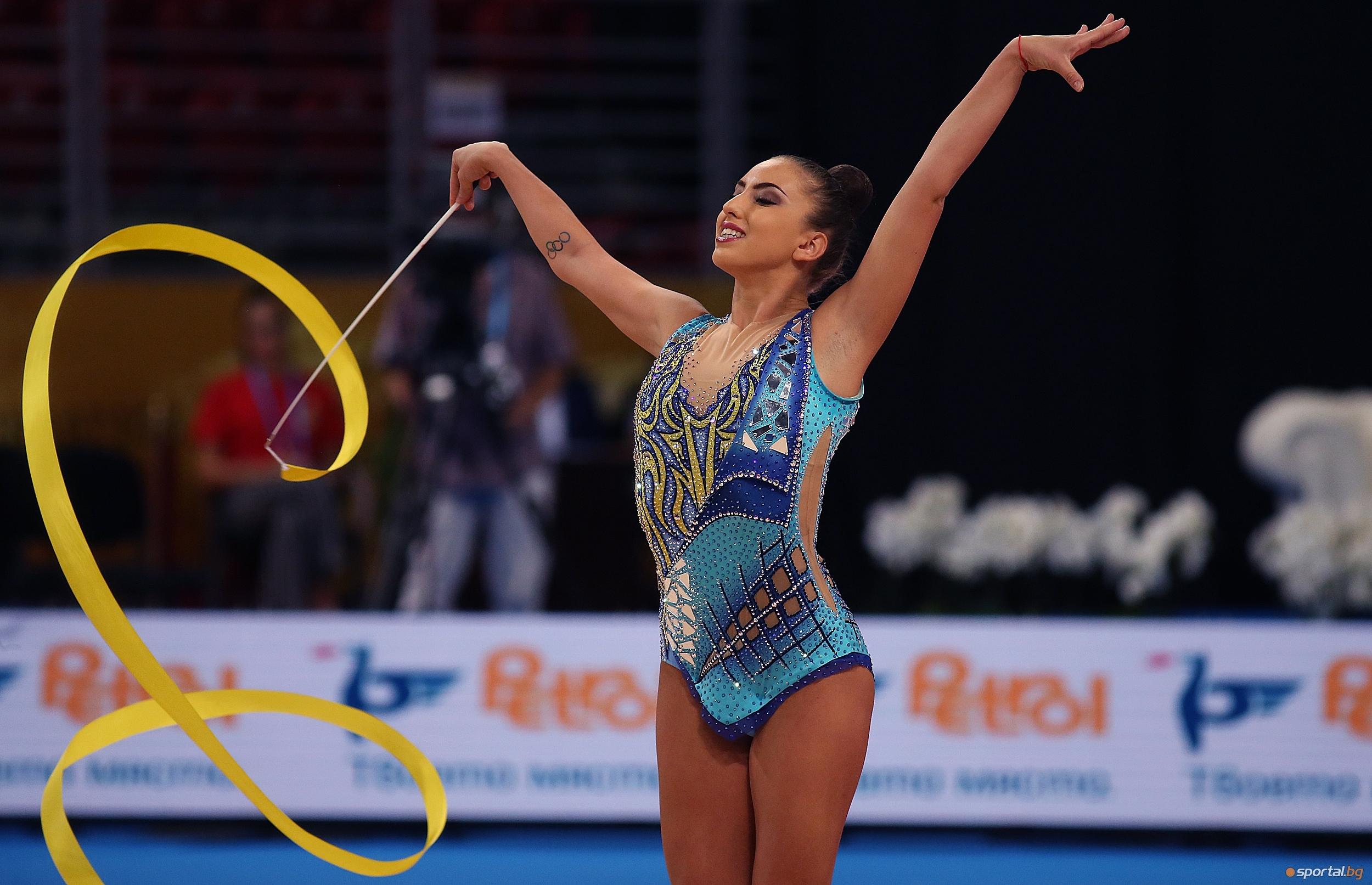 Катрин Тасева спечели златния медал на финала на лента на