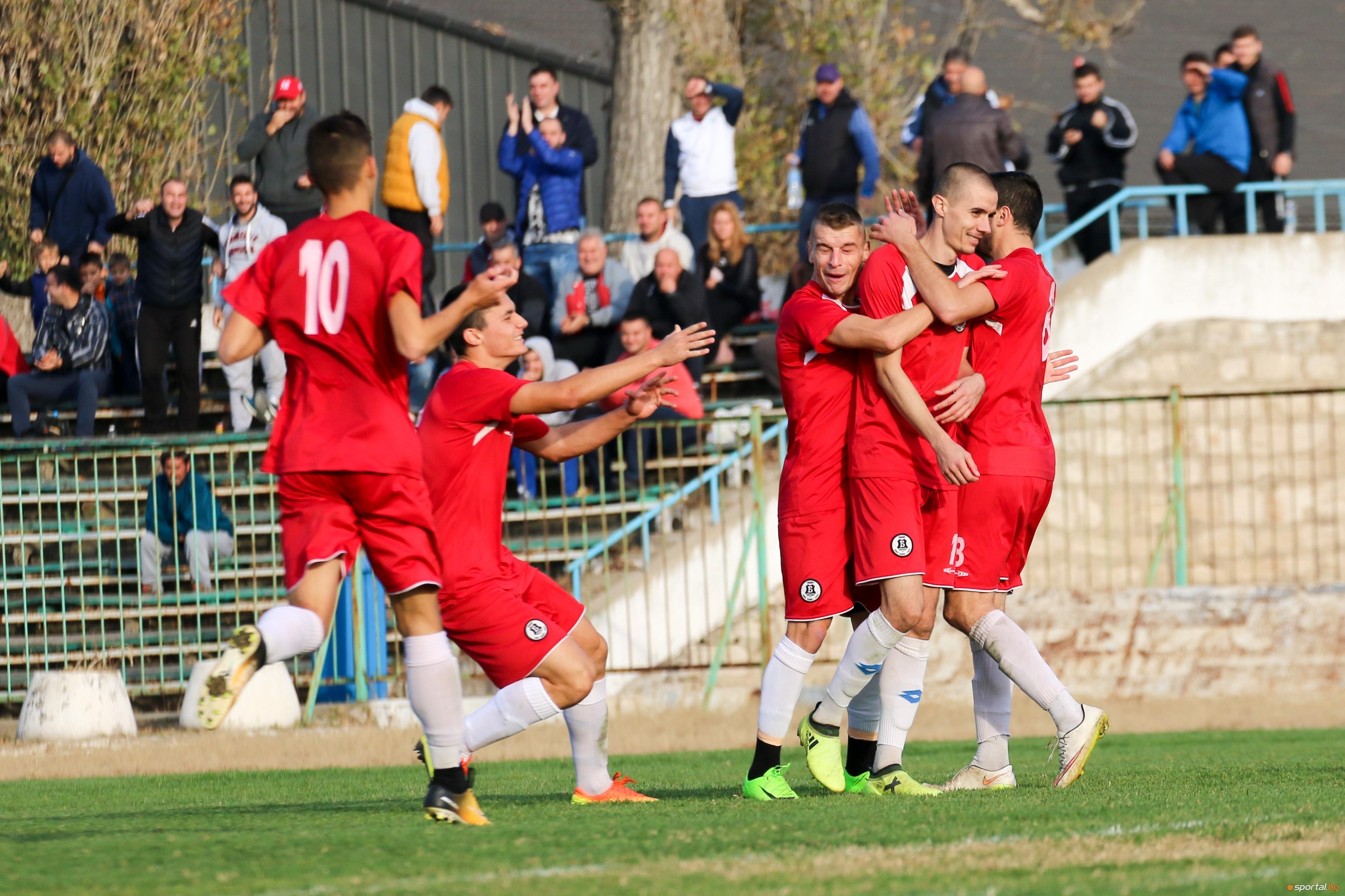 Вторият в Северозападната Трета лига Янтра (Габрово) спечели с 2:1