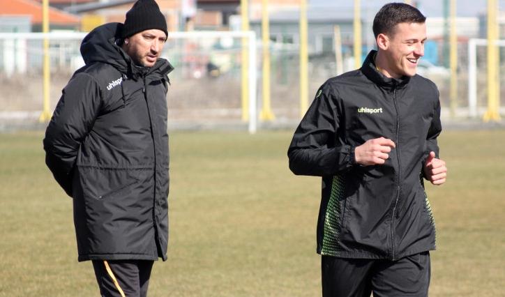Александър Тонев ще запише първи минути за Ботев (Пловдив) в