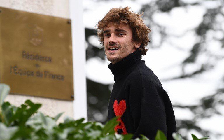 Френският нападател на Атлетико Мадрид Антоан Гризман отново влезе в