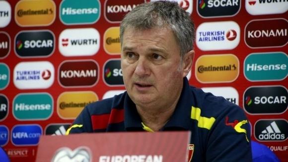 Селекционерътна националния отбор на Черна гора Любиша Тумбаковичкоментира предстоящата евроквалификация