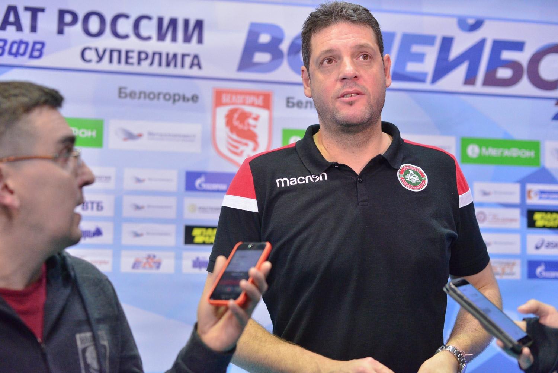 Старши треньорът на руския Локомотив (Новосибирск) Пламен Константинов коментира загубата
