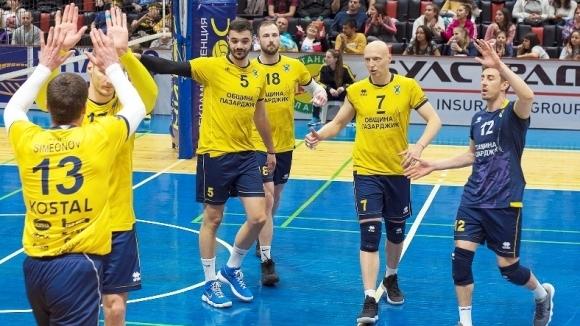 Победителят в редовния сезон в Суперлигата на България Хебър (Пазарджик)
