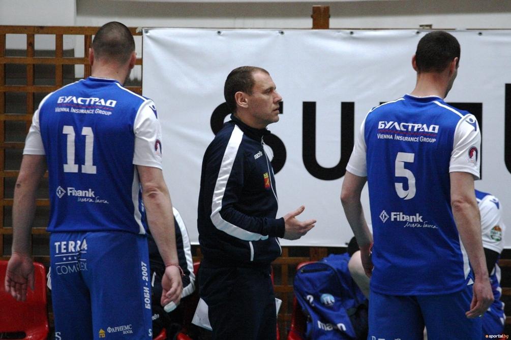 Наставникът волейболния Пирин (Разлог) Мирослав Живков заяви след поражението от
