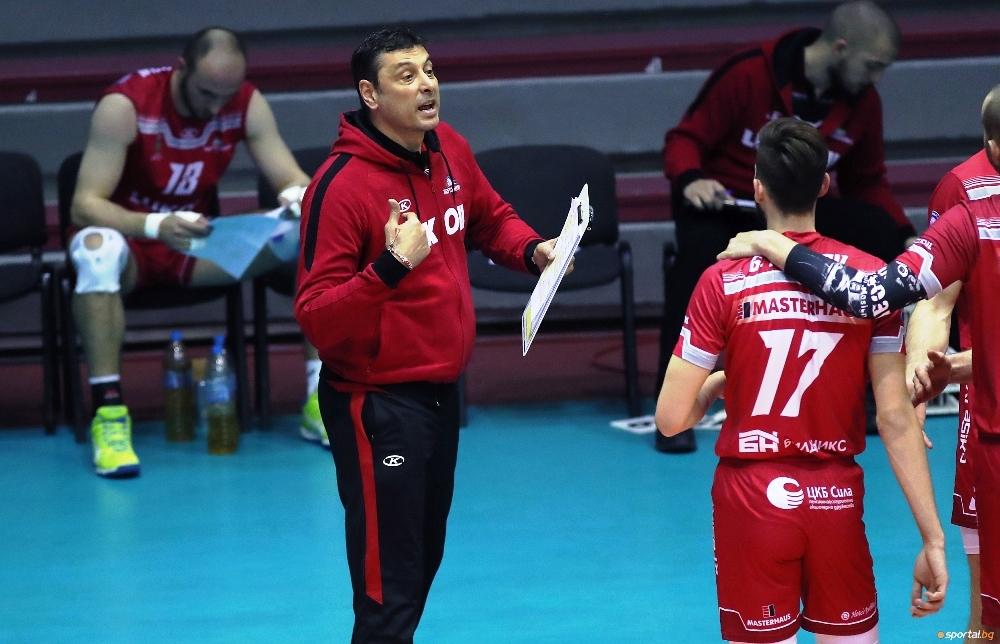 Треньорът на волейболния Нефтохимик 2010 (Бургас) Николай Желязков коментира успеха