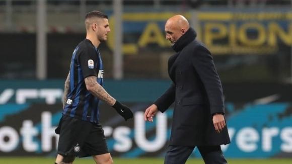 Мауро Икарди направи нова тренировка с Интер, след като поднови