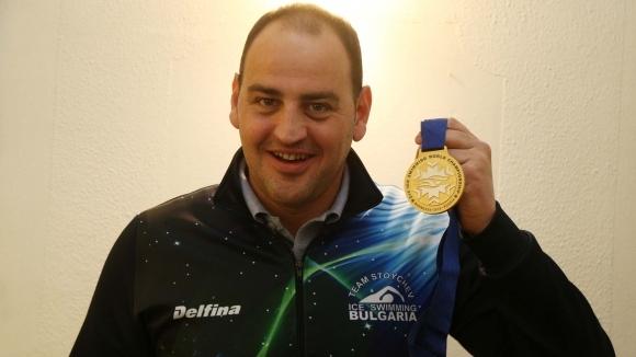 Световният шампион на 1000 метар в ледени води от Мурманск