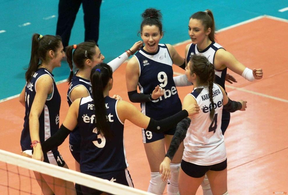 Волейболистките на Левски победиха като домакини Берое (Стара Загора) с