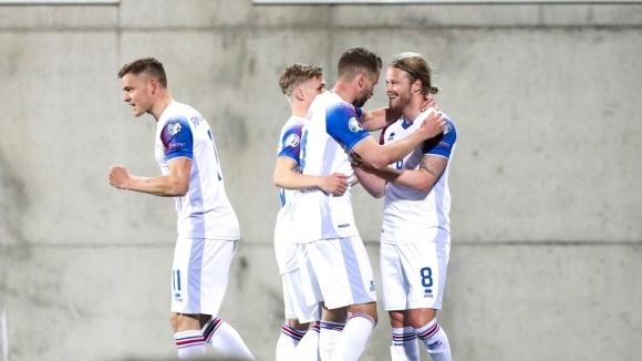 Исландия постигна първа победа в Група Н за Евро 2020,