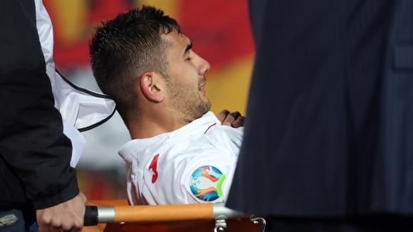 Капитанът на националния отбор по футбол Ивелин Попов вдъхна кураж