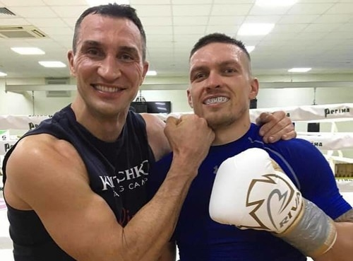Бившият двукратен световен шампион в тежка категирия Владимир Кличко отново