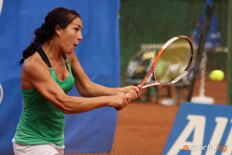 Българката Елица Костова отпадна на полуфиналите на двойки на турнира