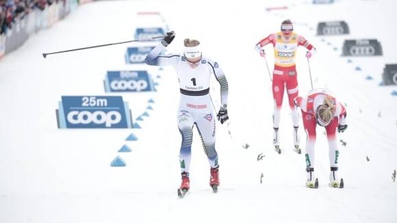 Шведката Стина Нислон спечели масовия старт на 10 километра класически
