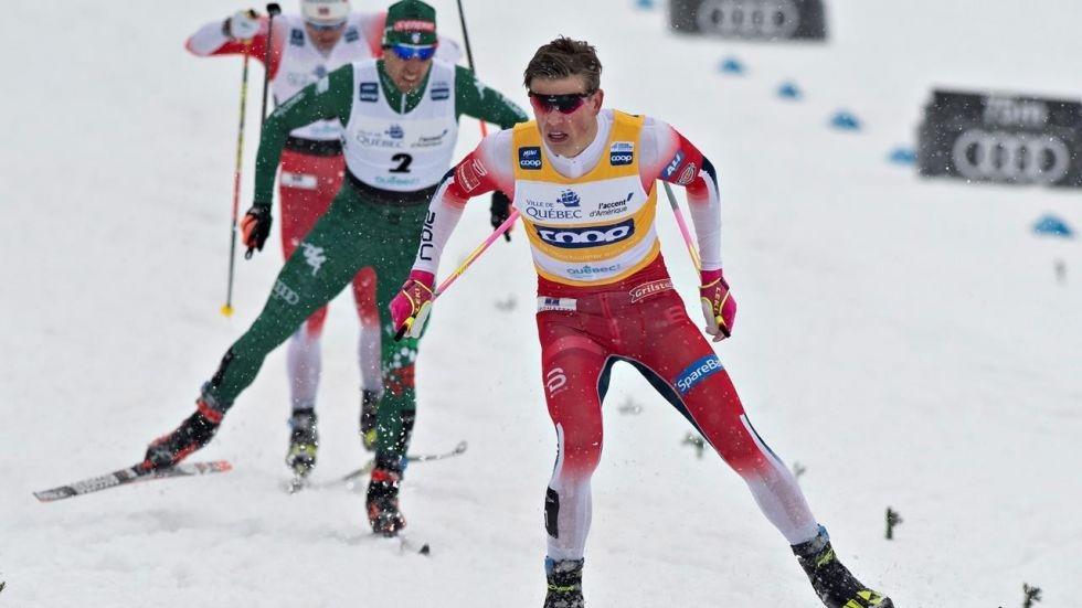 Йоханес Клаебо от Норвегия спечели масовия старт на 15 километра