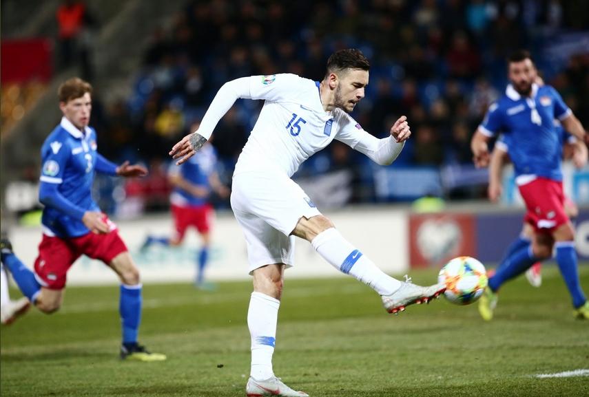 Гърция надделя над Лихтенщайн с 2:0 като гост в мач