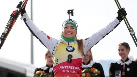Италианката Доротея Вирер спечели Световната купа по биатлон за сезон