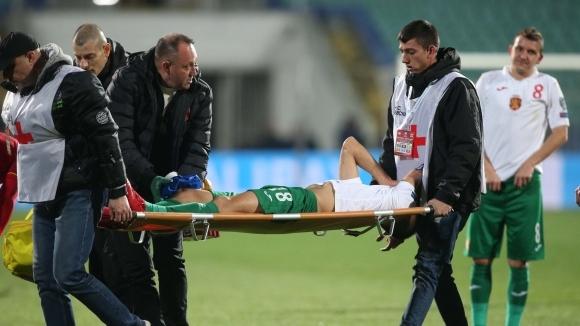 Полузащитникът на Палермо и на българския национален отбор по футбол