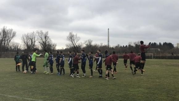 Третият в Северозападната Трета лига Севлиево спечели с 2:0 в