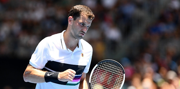 Най-добрият ни тенисист Григор Димитров продължава днес участието си на