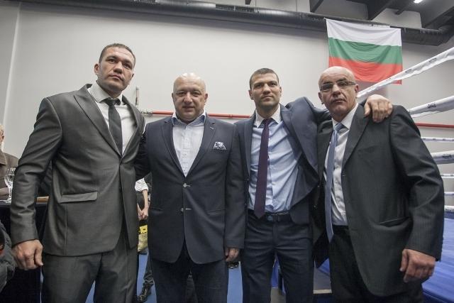 Министърът на спорта Красен Кралев поздрави Кубрат Пулев за поредния