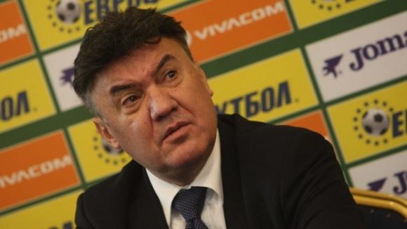 Президентът на БФС Борислав Михайлов отрече появилите се информации, че