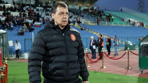 Селекционерът на България Петър Хубчев коментира, че е много доволен