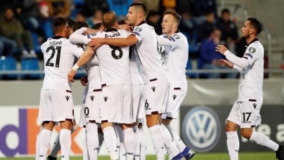 Албания записа дебютна победа в Група