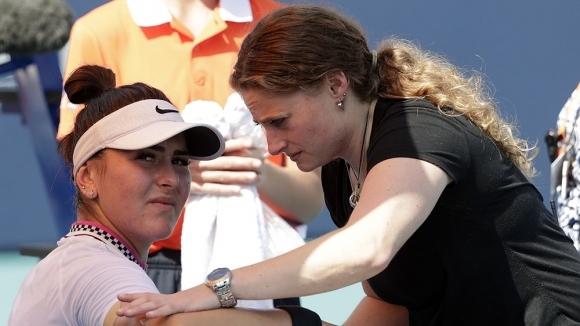 Победната серия на Бианка Андрееску в женския тенис приключи с