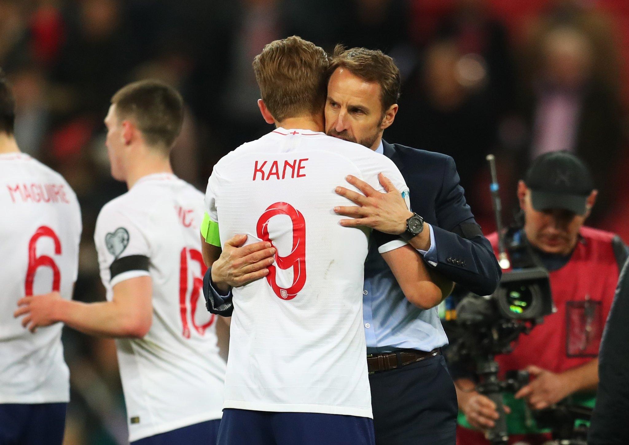 Мениджърът на националния отбор на Англия Гарет Саутгейт бе много