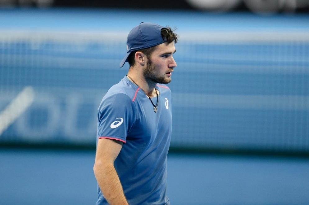 Габриел Донев преодоля квалификацията на турнира по тенис на твърди