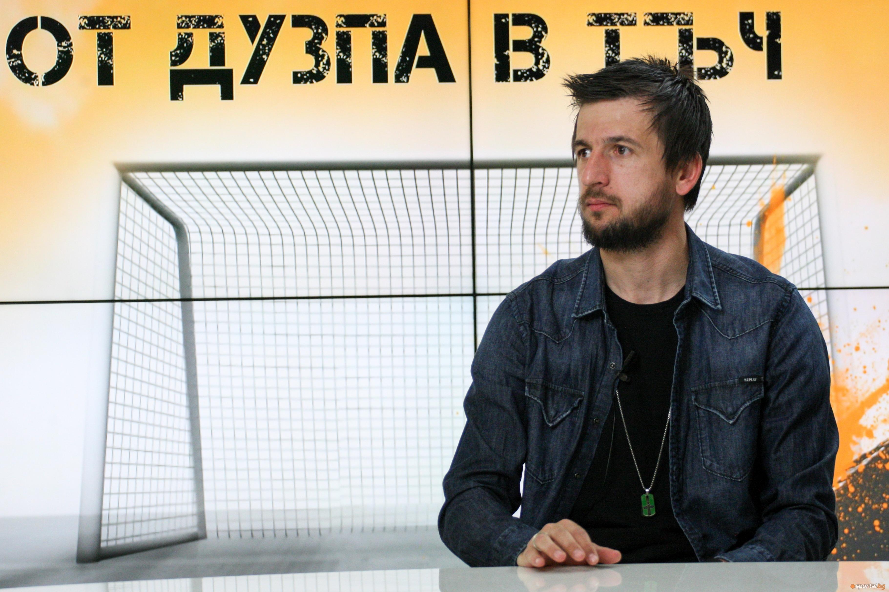 Участието на Дарко Тасевски в мача на Славия със Септември