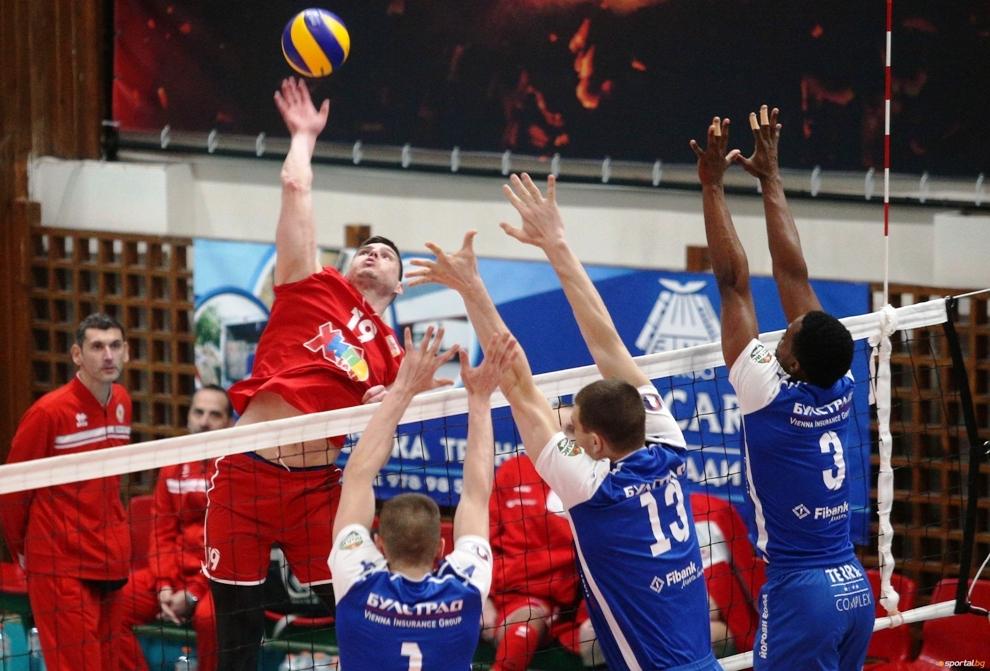Снимка: Симеон Александров: Aко играем добър волейбол, ще имаме успех! Изненада ме шестото място на Левски