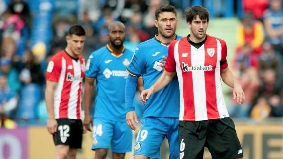 Отборът на Хетафе надигра с 1:0 у дома Атлетик Билбао
