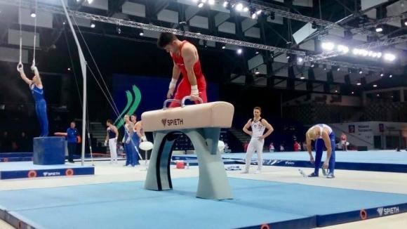 Националите по спортна гимнастика направиха официална тренировка на Европейското първенство