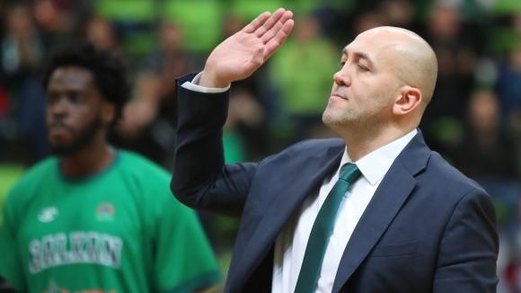 Треньорът на Балкан (Ботевград) Небойша Видич направи кратък анализ на