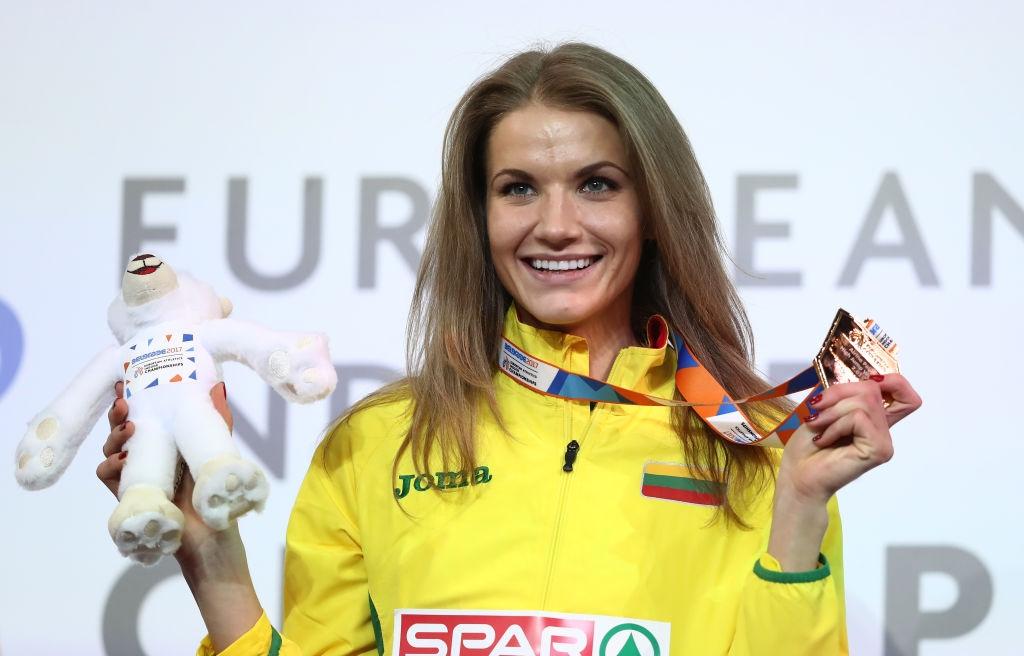 Една от съперничките на Мирела Демирева в сектора за скок
