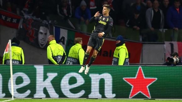 С гола си срещу Аякс в първата среща от 1/4-финалите