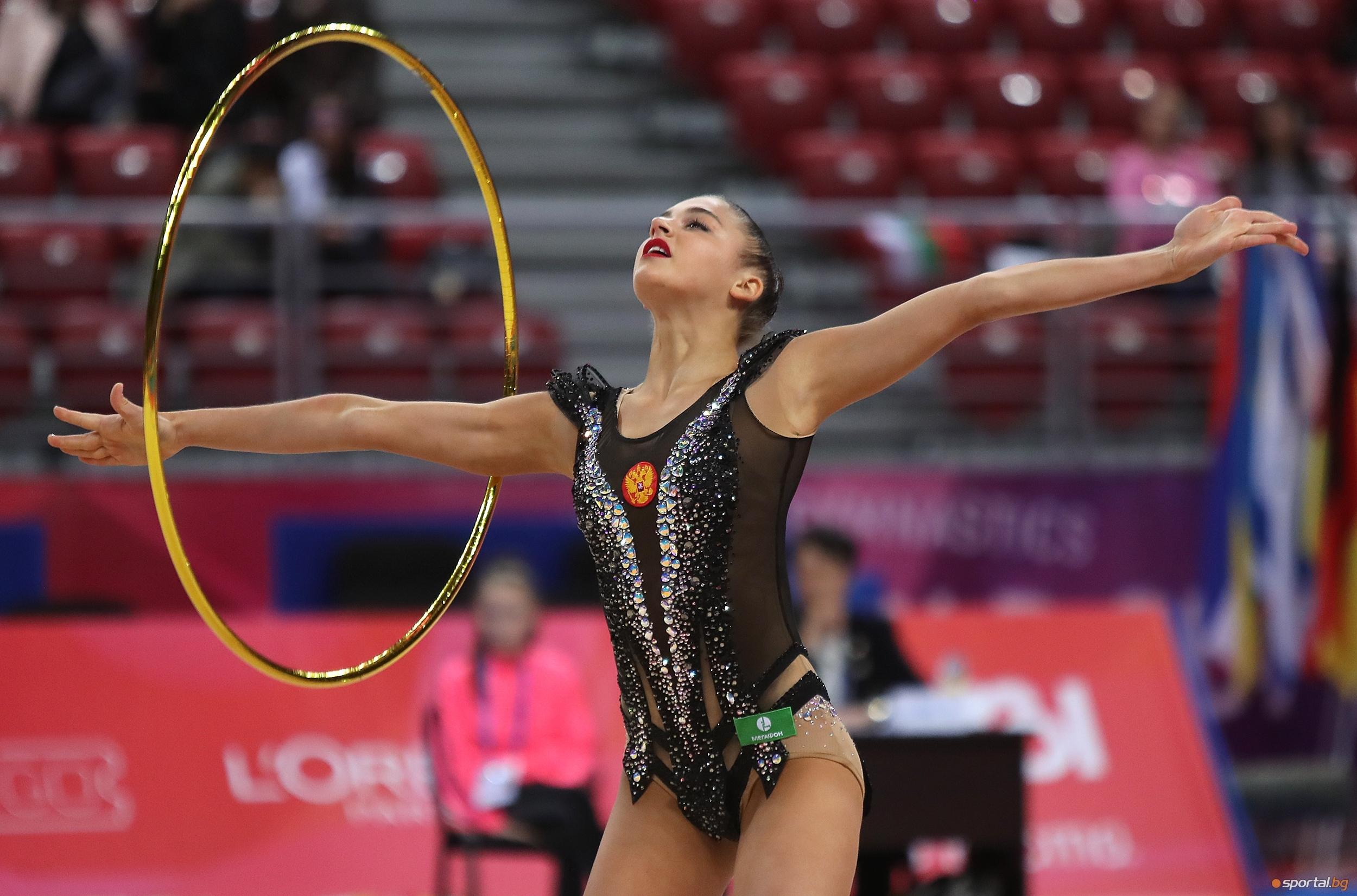 Катрин Тасева заема четвърто място във временното класиране за многобоя