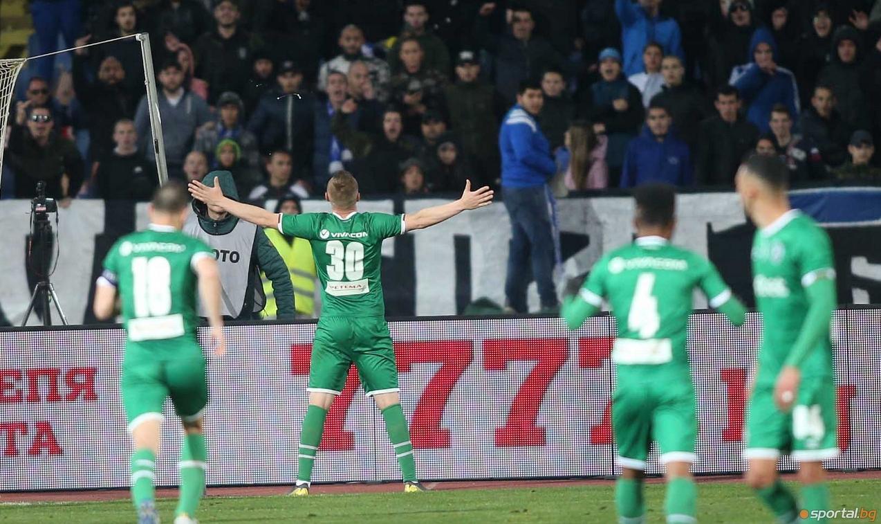 Снимка: Дяков: Моци бе провокиран и обиждан от първата минута, младите момчета на Левски ми харесаха