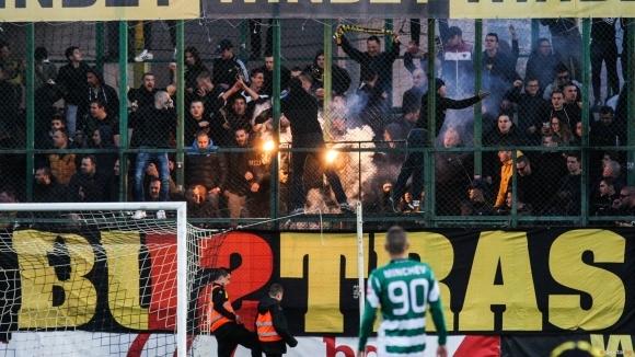 Снимка: Сериозни мерки за сигурност в Пловдив заради Ботев  - ЦСКА-София