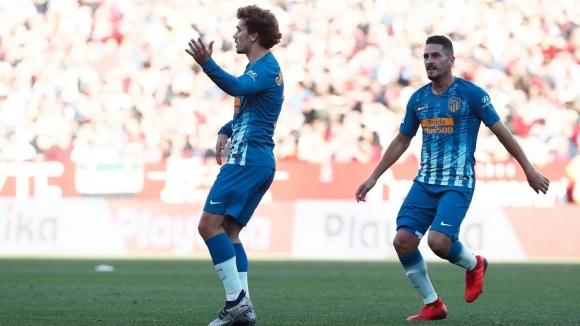 Голямата звезда на Атлетико Мадрид Антоан Гризман е един от