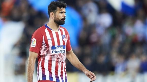 Нападателят на Атлетико Мадрид Диего Коща стана поредният настоящ или