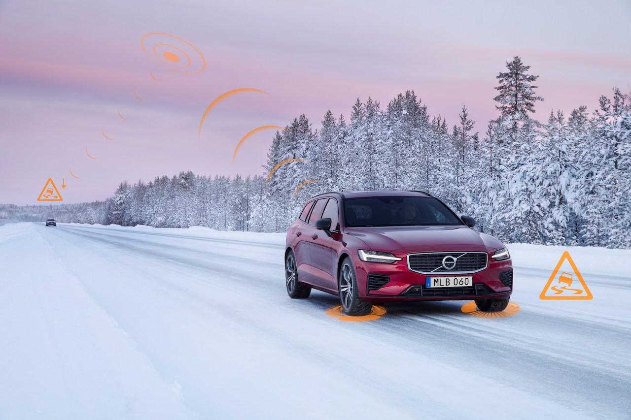 Volvo Cars създаде първата в индустрията технология за безопасност чрез