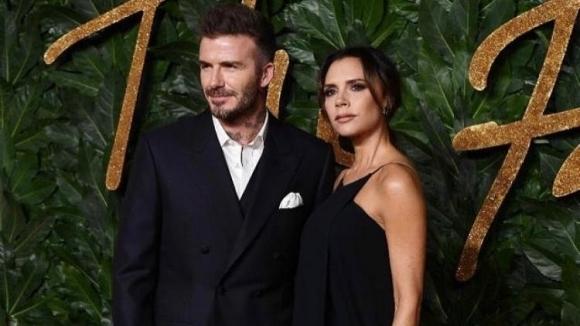 Дейвид Бекъм се отличи с романтичен жест към съпругата си