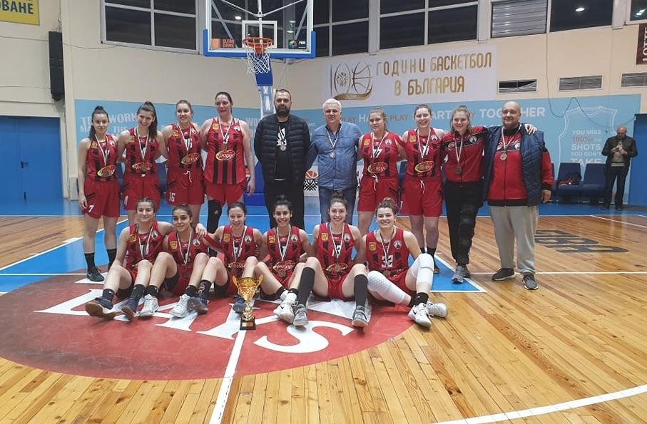 Отборът на Локомотив Стара Загора спечели бронзовите медали в женското