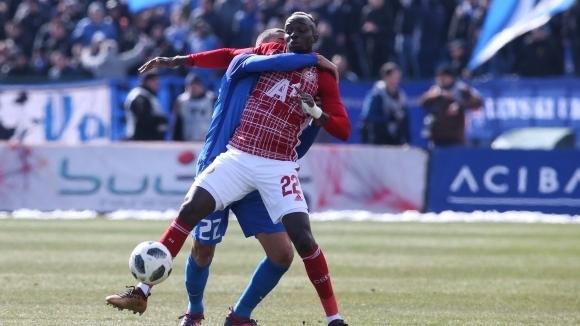 Снимка: Али Соу се закани сериозно: Ще вкарам пет гола на Левски