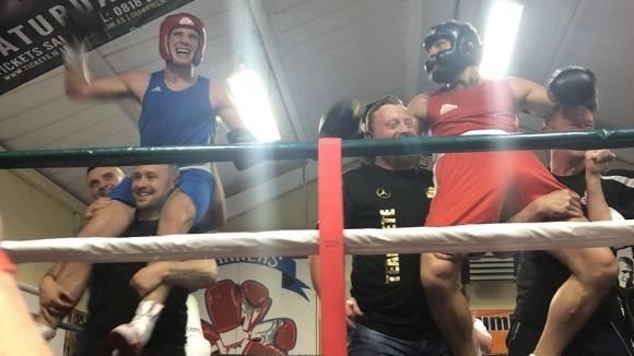 Снимка: Конър Макгрегър отново проведе боксов двубой